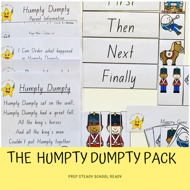 Humpty Dumpty Activity Pack *Digital File*