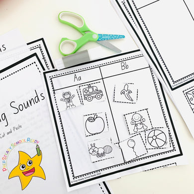 Beginning Sounds- Digital File