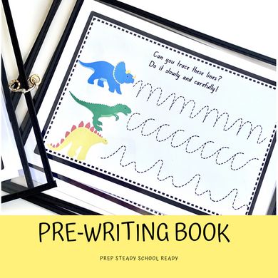 Pre-Writing Tracing Booklet