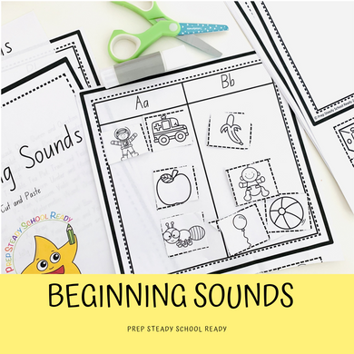 Beginning Sounds *Digital File*