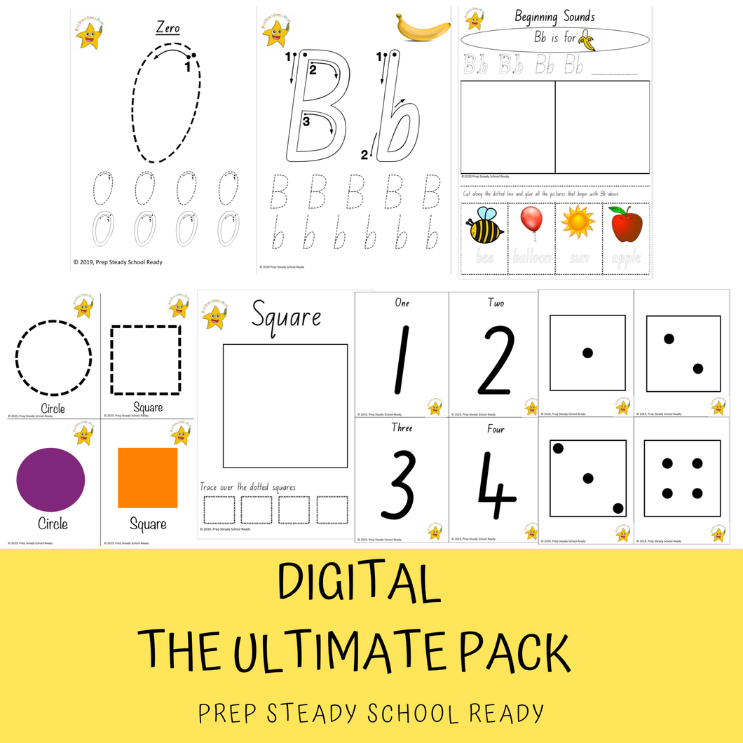 The Ultimate Pack SA *Digital File*