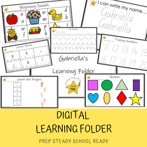 Learning Folder *Digital File*