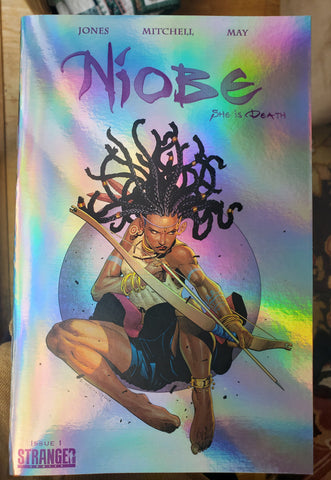 "Niobe: She is Death #1 ""Leaping Arrow"" Foil Variant (Limited to 100)"