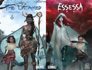 The Untamed: Still a Fool #1 & Essessa ClonerH Kickstarter Variant Sets