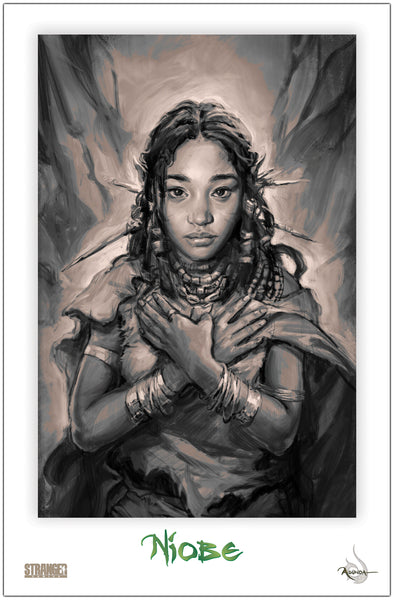 Niobe in Prayer Hyoung 11x17 Print
