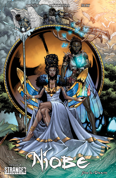 Niobe: She is Death #4 Mitchell Connecting Cover A