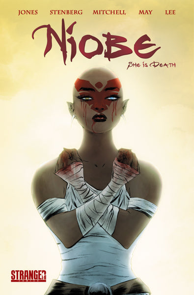 Niobe: She is Death #1 Kickstarter Edition Bloody Fists