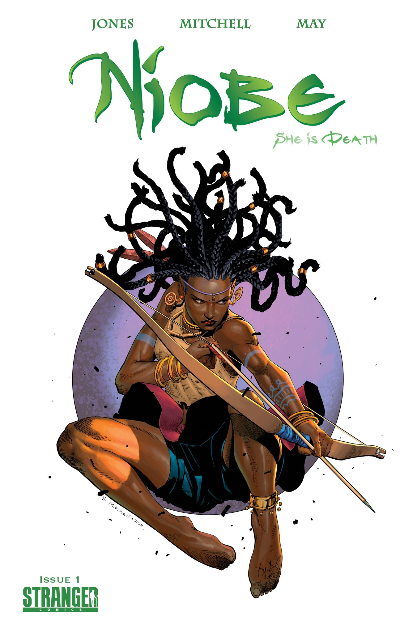 "Niobe: She is Death #1 Mitchell ""Leaping Arrow"" Green Variant"