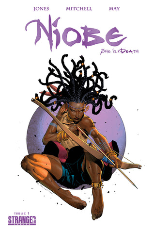 "Niobe: She is Death #1 Mitchell ""Leaping Arrow"" Virgin & Purple Trade Variants"