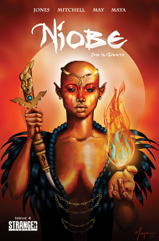 Niobe: She is Death #4 Sheeba Maya Exclusive