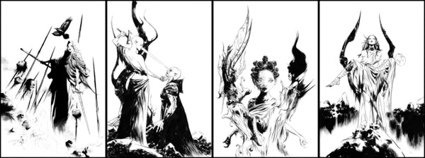 Niobe: She is Death #1-4 Jae Lee Virgin Inks Exclusive