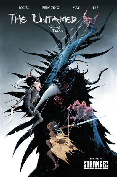 The Untamed: Killing Floor #4 Jae Lee Retail Cover B