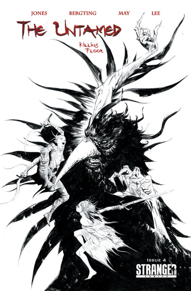 The Untamed: Killing Floor #4 Jae Lee Retailer Incentive