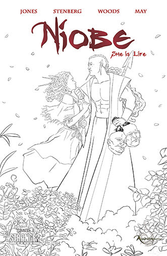 Niobe: She is Life #1 Woods Coloring Book Cover