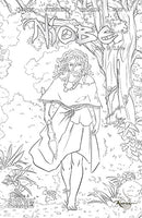 Niobe: She is Life #2 Woods Coloring Book Cover