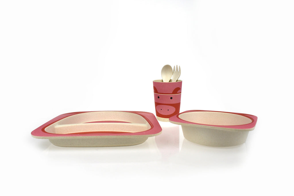 ECO-FRIENDLY DINNERWARE - PIG