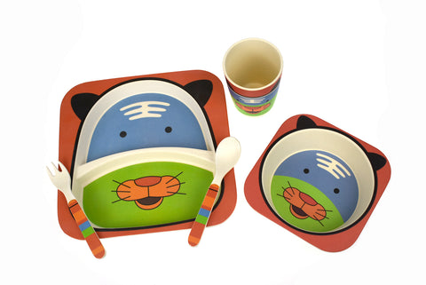 ECO-FRIENDLY DINNERWARE - TIGER