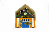 METAL LATCH PLAYSET - POLICE