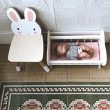 FOREST WOODEN TABLE AND 2 CHAIRS - BUNNY & BEAR