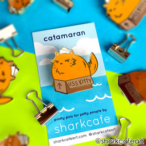 Catamaran Pin (FLAWED)