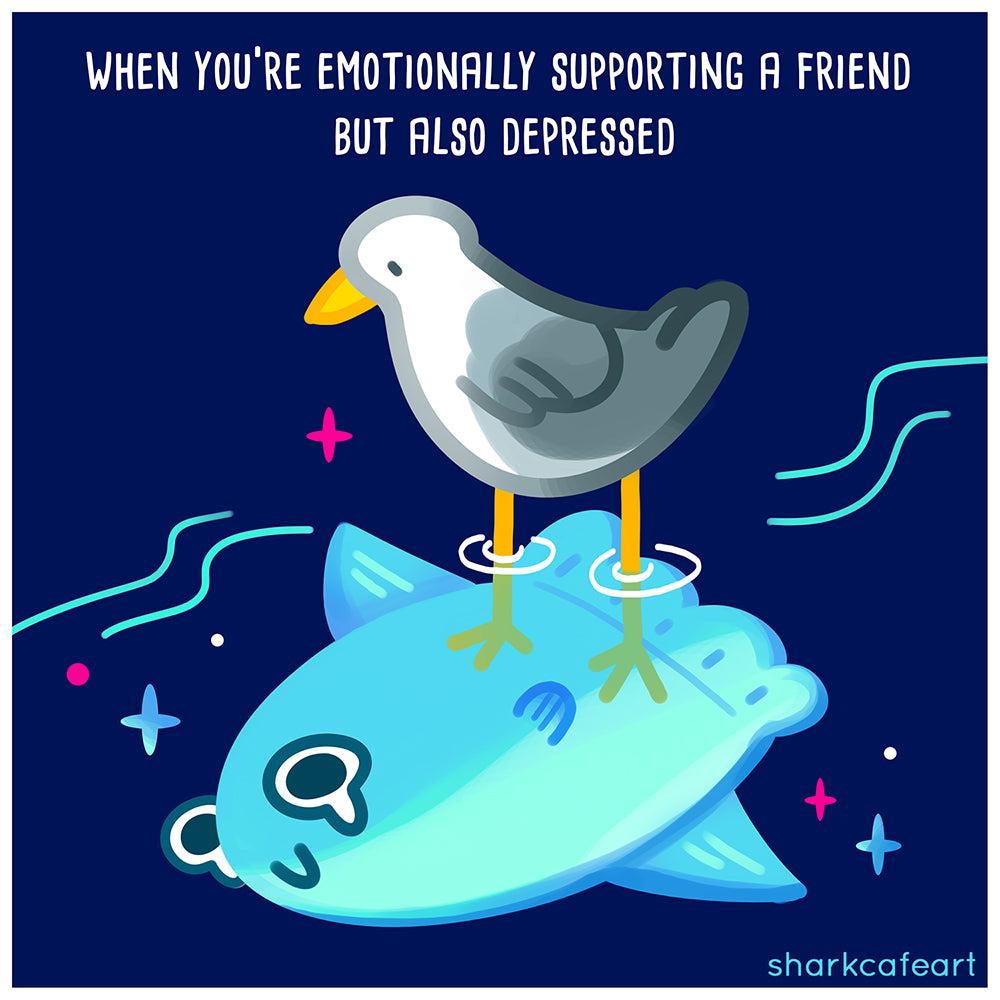 Emotional Support Mola | Sunfish Print