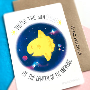 You're The Sunfish Print + Envelope