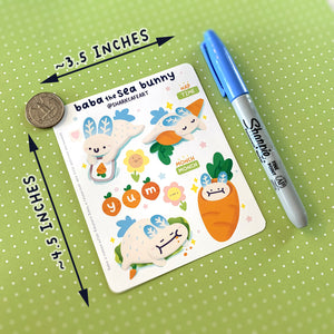 'hello, spring' Stationery Sticker Sheet