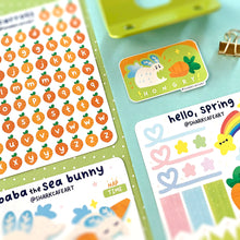 Load image into Gallery viewer, 'hello, spring' Stationery Sticker Sheet