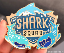 Load image into Gallery viewer, Shark Squad Pin