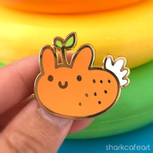 Load image into Gallery viewer, Orange Peel Nudibranch | Nudi Fruities Pin