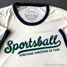 Load image into Gallery viewer, Sportsball Ringer Tee