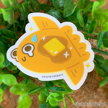 Load image into Gallery viewer, Mola Mola Pancake | Sunfish | Ocean Pancakes CLEAR MATTE Sticker