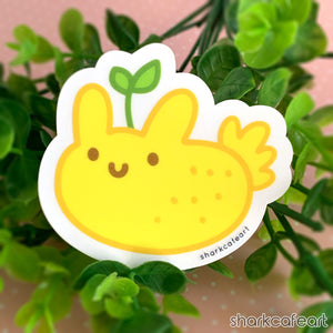 Sea Lemon Nudibranch | Nudi Fruities CLEAR MATTE Sticker