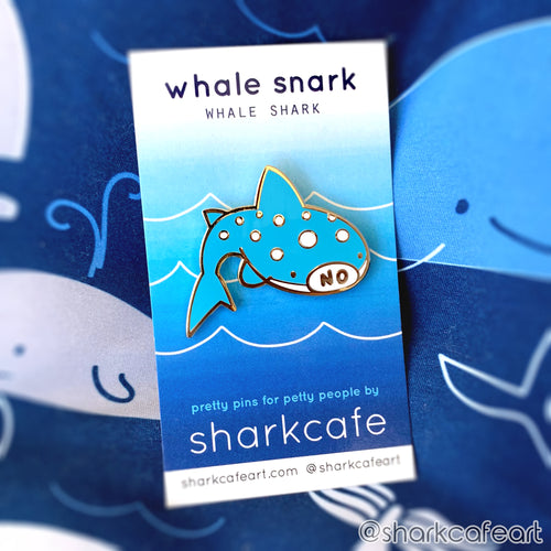 Whale Snark Whale Shark CLEAR VINYL Sticker
