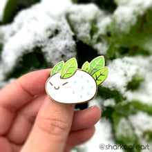 Load image into Gallery viewer, Snow Sea Bunny Enamel Pin
