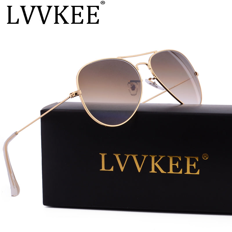 LVVKEE Aviator Sunglasses