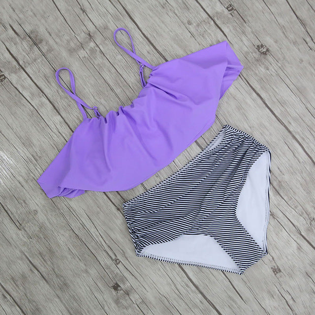 Quali High-Waisted Bikini