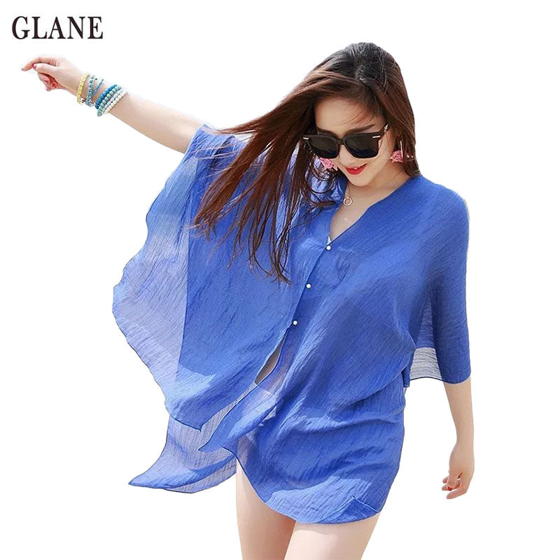 New Sexy Women Girl Beachwear Cover Up  Sundress