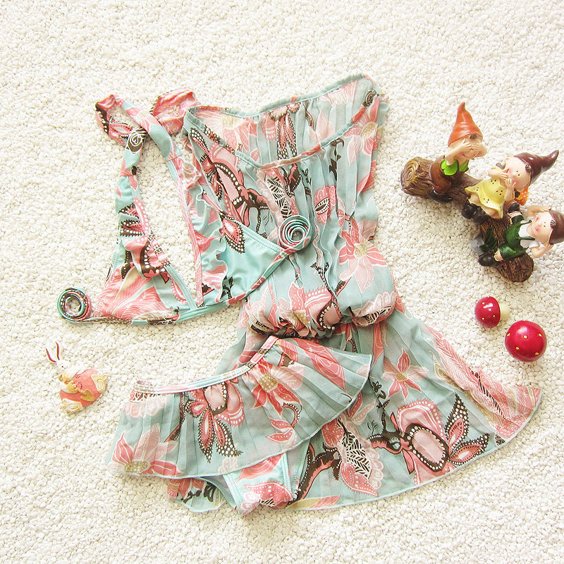 Toddler Floral Bikini Set