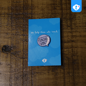 Teacher Voice - Twinkl Enamel Pin Badge