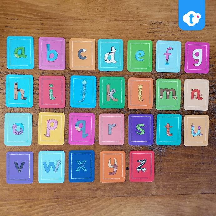 Animal Alphabet Fridge Magnets