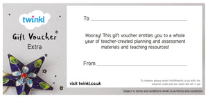Extra Subscription Gift Voucher (Annual)