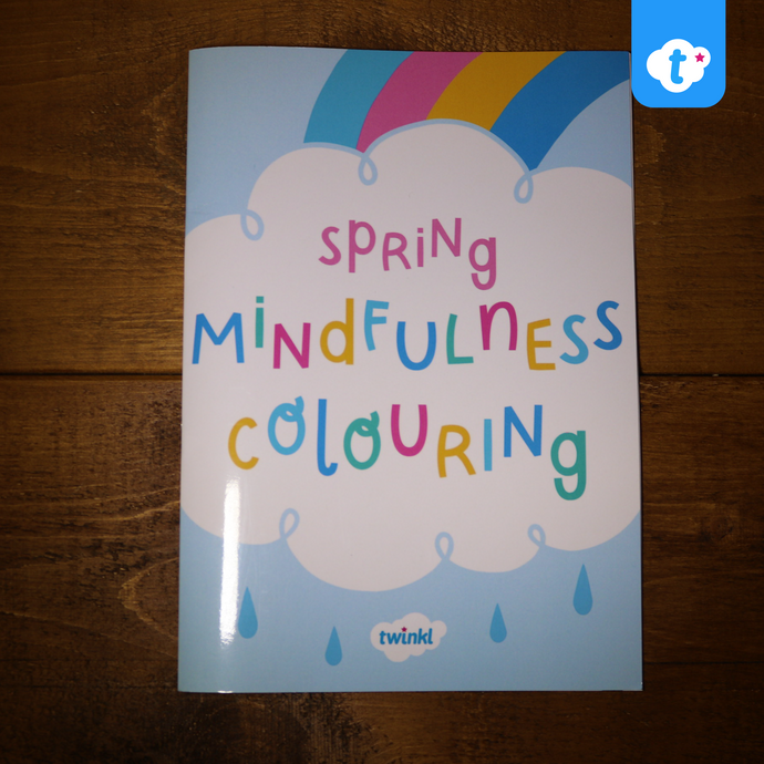 Twinkl Spring Mindfulness Colouring Book
