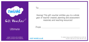 Ultimate Subscription Gift Voucher (Annual)