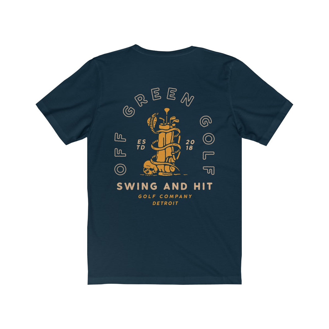 SNAKE GOLF BAG T-SHIRT