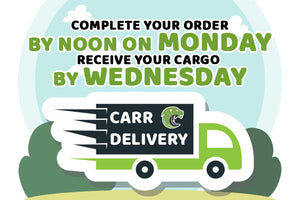 All deliveries are on Wednesday!