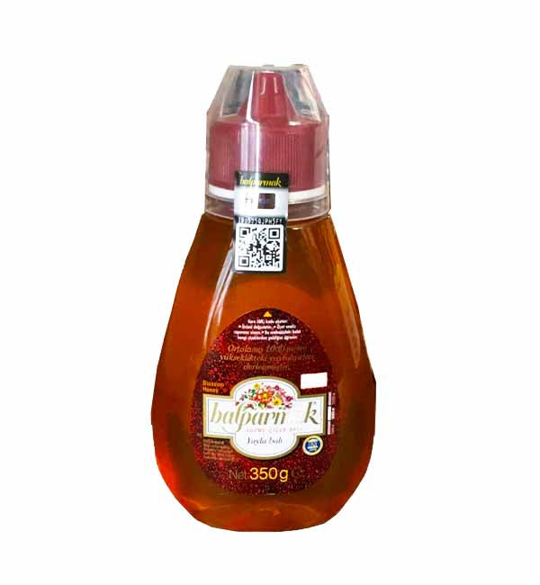 Honey | Meadows Honey in Squeezable Bottle| Balparmak - 350gm   Yayla Balı