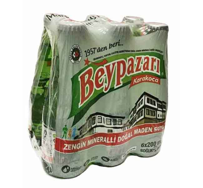 Beypazari Sparkling Water - Plain 200ml 6's/pkt
