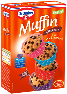 Muffin Mix - Chocolate Muffin Mix - Dr. Oetker - 345g