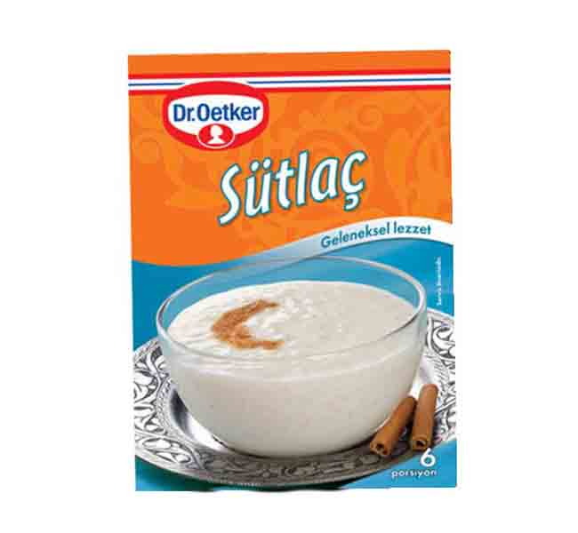 Dr. Oetker - Sutlac  Rice Pudding 156 Gr